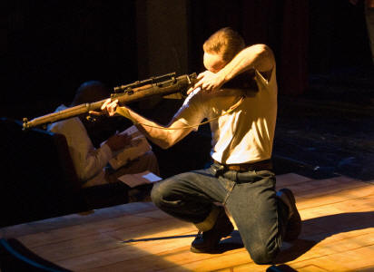 """Assassins,"" New Line Theatre, 2008 (photo credit: Michael C. Daft)"